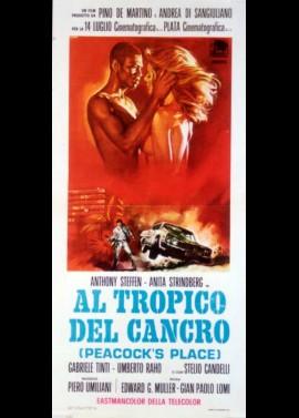 affiche du film AL TROPICO DEL CANCRO