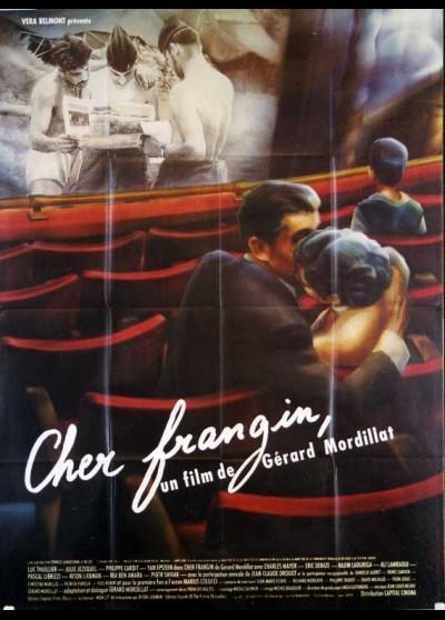 affiche du film CHER FRANGIN