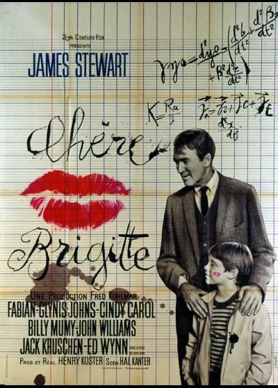 affiche du film CHERE BRIGITTE