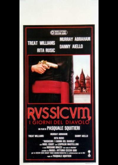 affiche du film AFFAIRE RUSSICUM (L')