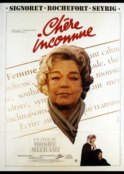affiche du film CHERE INCONNUE