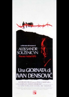 affiche du film ONE DAY IN THE LIFE OF IVAN DENISOVICH