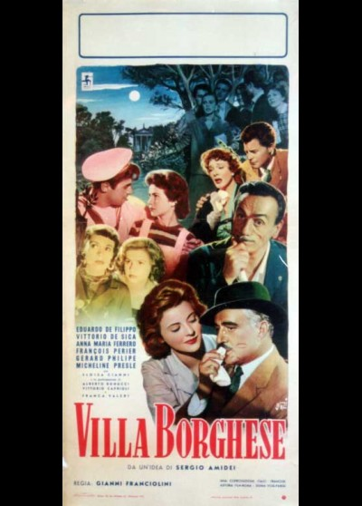 VILLA BORGHESE movie poster