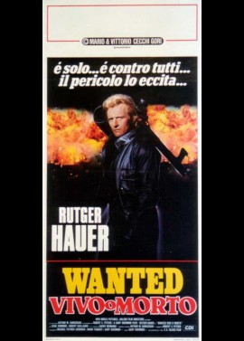 WANTED DEAD OR ALIVE movie poster