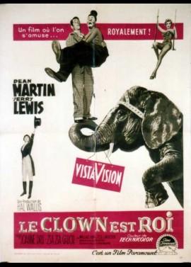 affiche du film CLOWN EST ROI (LE)
