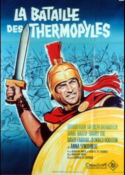 affiche du film BATAILLE DES THERMOPYLES (LA)