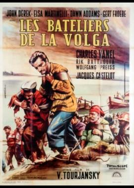 affiche du film BATELIERS DE LA VOLGA (LES)