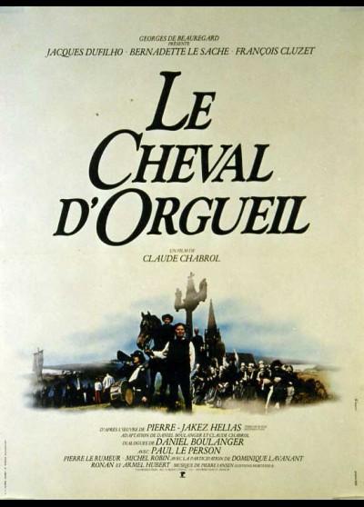 CHEVAL D'ORGUEIL (LE) movie poster