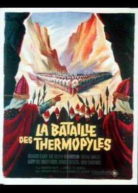 affiche du film BATAILLES DES THERMOPYLES (LA)