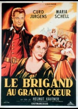 affiche du film BRIGAND AU GRAND COEUR (LE)