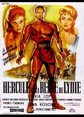 ERCOLE E LA REGINE DI LIDIA movie poster