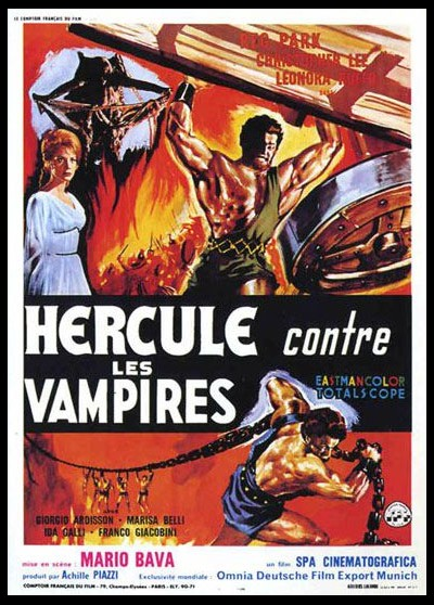 affiche du film HERCULE CONTRE LES VAMPIRES
