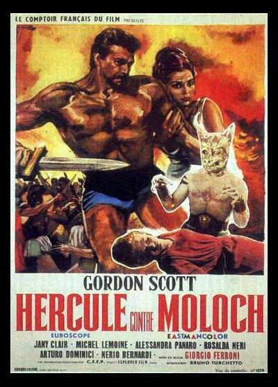 ERCOLE CONTRO MOLOCH movie poster