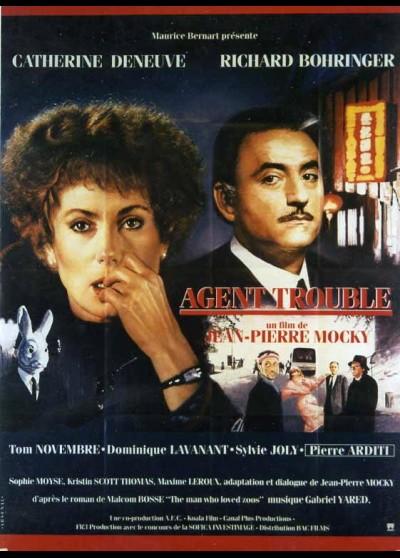 affiche du film AGENT TROUBLE