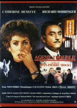 AGENT TROUBLE movie poster