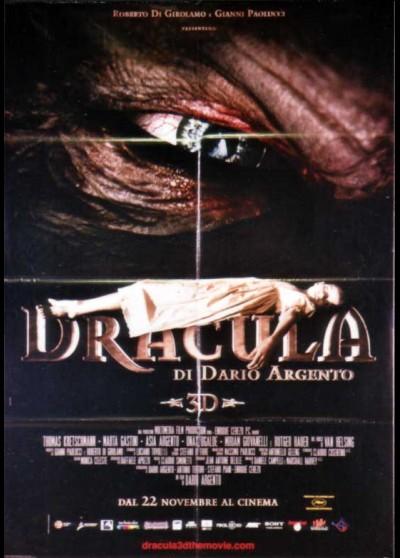 DRACULA DI DARIO ARGENTO movie poster