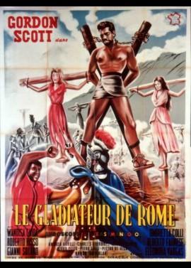 affiche du film GLADIATEUR DE ROME (LE)