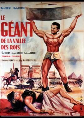 affiche du film GEANT DE LA VALLEE DES ROIS (LE)