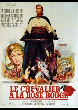 affiche du film CHEVALIER A LA ROSE ROUGE (LE)