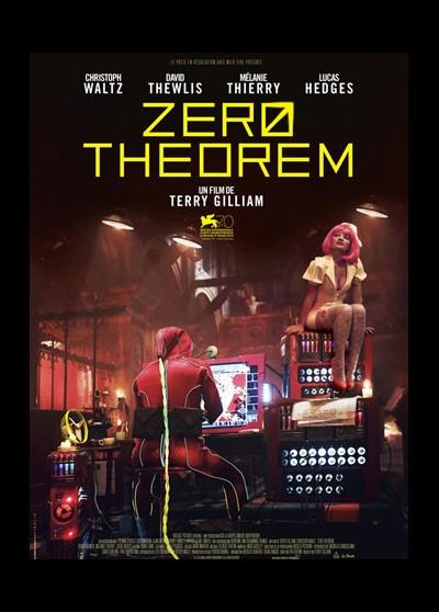 ZERO THEOREM (THE) movie poster