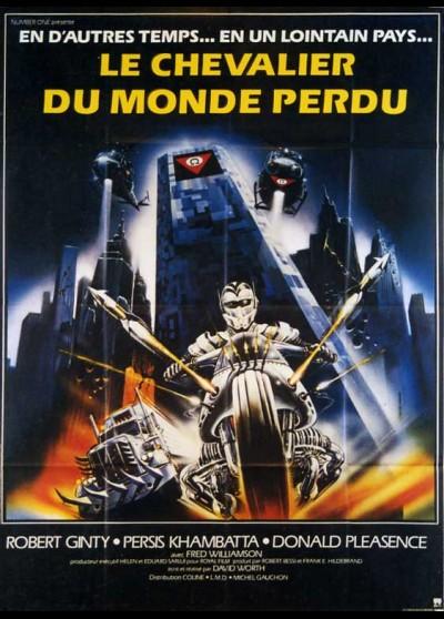 affiche du film CHEVALIER DU MONDE PERDU (LE)
