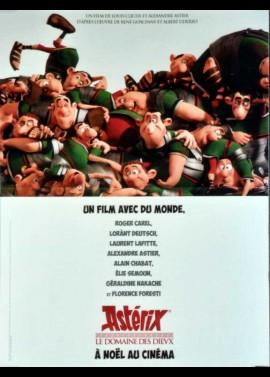 ASTERIX LE DOMAINE DES DIEUX movie poster