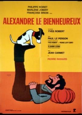 ALEXANDRE LE BIENHEUREUX movie poster