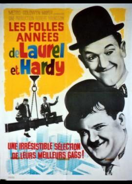 affiche du film FOLLES ANNEES DE LAUREL ET HARDY (LES)