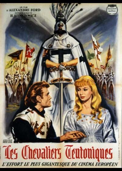 affiche du film CHEVALIERS TEUTONIQUES (LES)