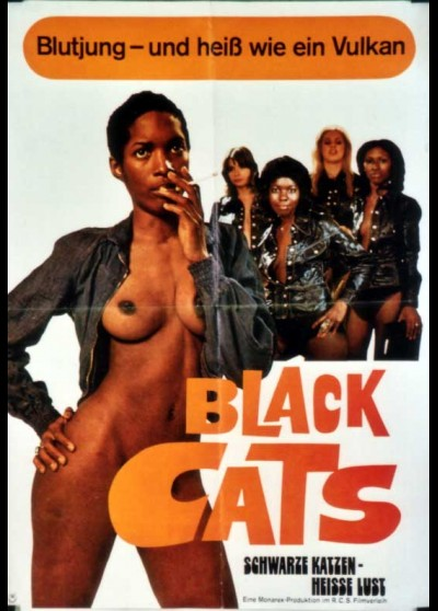 BLACK ALLEY CATS (THE) movie poster