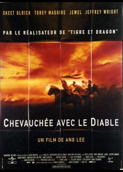 affiche du film CHEVAUCHEE AVEC LE DIABLE