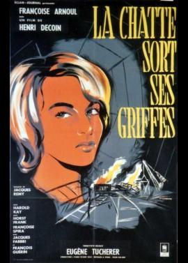 affiche du film CHATTE SORT SES GRIFFES (LA)