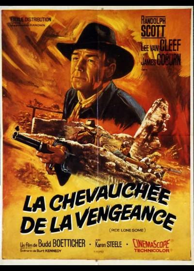 affiche du film CHEVAUCHEE DE LA VENGEANCE (LA)