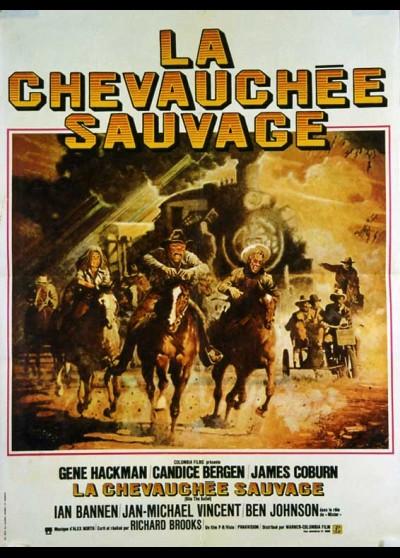 affiche du film CHEVAUCHEE SAUVAGE (LA)