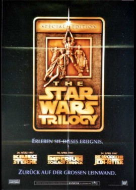 STAR WARS TRILOGY (THE) movie poster