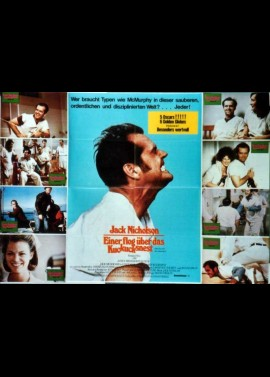 ONE FLEW OVER THE CUCKOO'S NEST movie poster