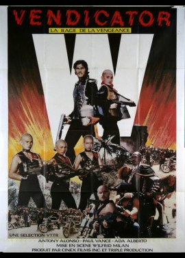 VINDICATOR (THE) movie poster