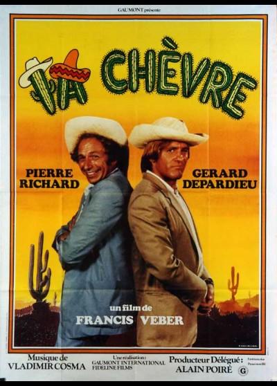 affiche du film CHEVRE (LA)
