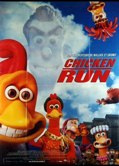 affiche du film CHICKEN RUN