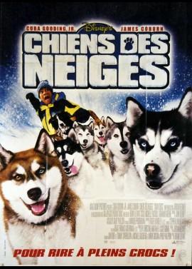 affiche du film CHIENS DES NEIGES