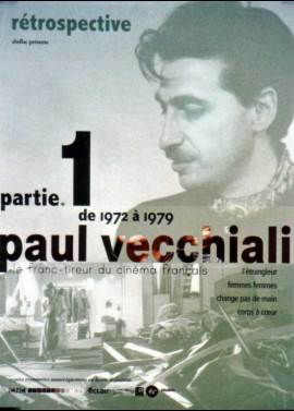 affiche du film PAUL VECCHIALI RETROSPECTIVE