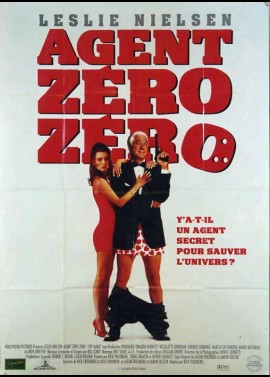 affiche du film AGENT ZERO ZERO