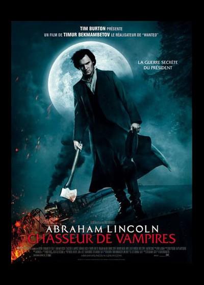 affiche du film ABRAHAM LINCOLN CHASSEUR DE VAMPIRES