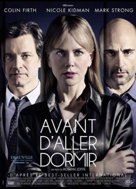 affiche du film AVANT D'ALLER DORMIR
