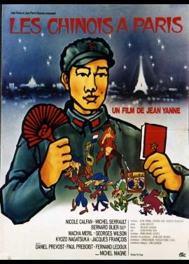 CHINOIS A PARIS (LES) movie poster