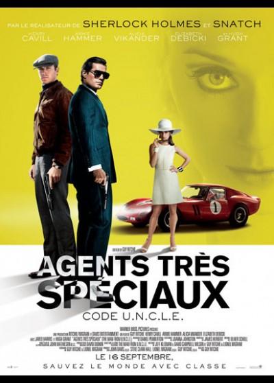affiche du film AGENTS TRES SPECIAUX