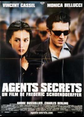 affiche du film AGENTS SECRETS