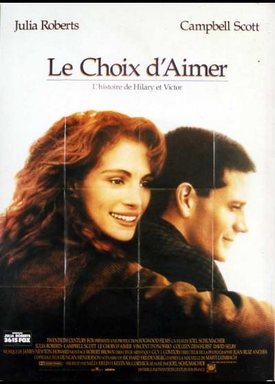 affiche du film CHOIX D'AIMER (LE)