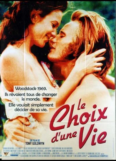 affiche du film CHOIX D'UNE VIE (LE)