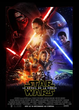 affiche du film STAR WARS 7 LE REVEIL DE LA FORCE